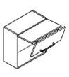 Klopna HUWILIFT SENSO 650mm 3-5.5 kg (640-700mm)