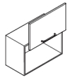 Klopna HUWILIFT STRATO 420mm  3,5-7 kg