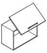 Klopna HUWILIFT VERSO 420-800mm  2-4 kg