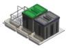 Odpadkový koš dvoj.zásuvkový 800, 2x16l