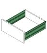 GTV Metalbox 150/500 bílá komplet s upínači