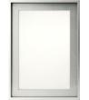 Hliníkový nábytkový rámeček  S9   344x1044 mm