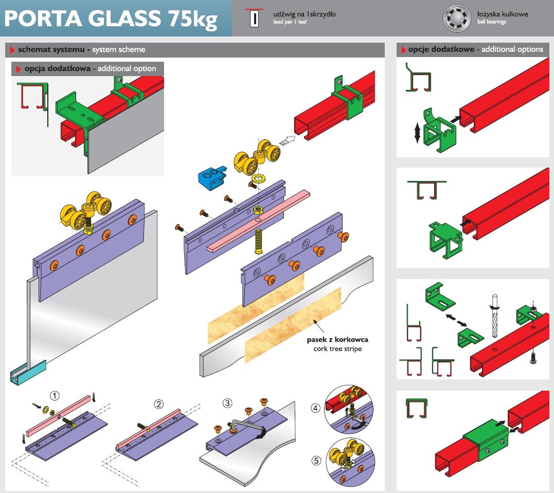 Schema Laguna  PORTA GLASS